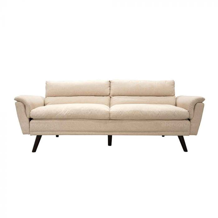 Abensonhome Percy Beige Sofa Bed, Beige Sofa Bed Couch